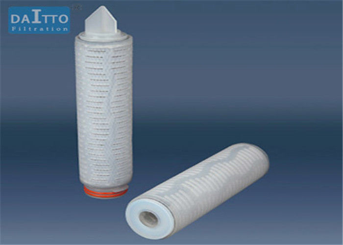 Bottled Water Activated Carbon Filter Cartridge , Water Filter Cartridges High Dirt Holding Capacity