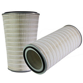 Conical / Cylindrical Industrial Air Filter Cartridge Prolonging Life Span