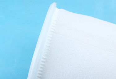 100 Micron Liquid Filter Bags , Anti Abrasion Polyester Felt Filter Bag